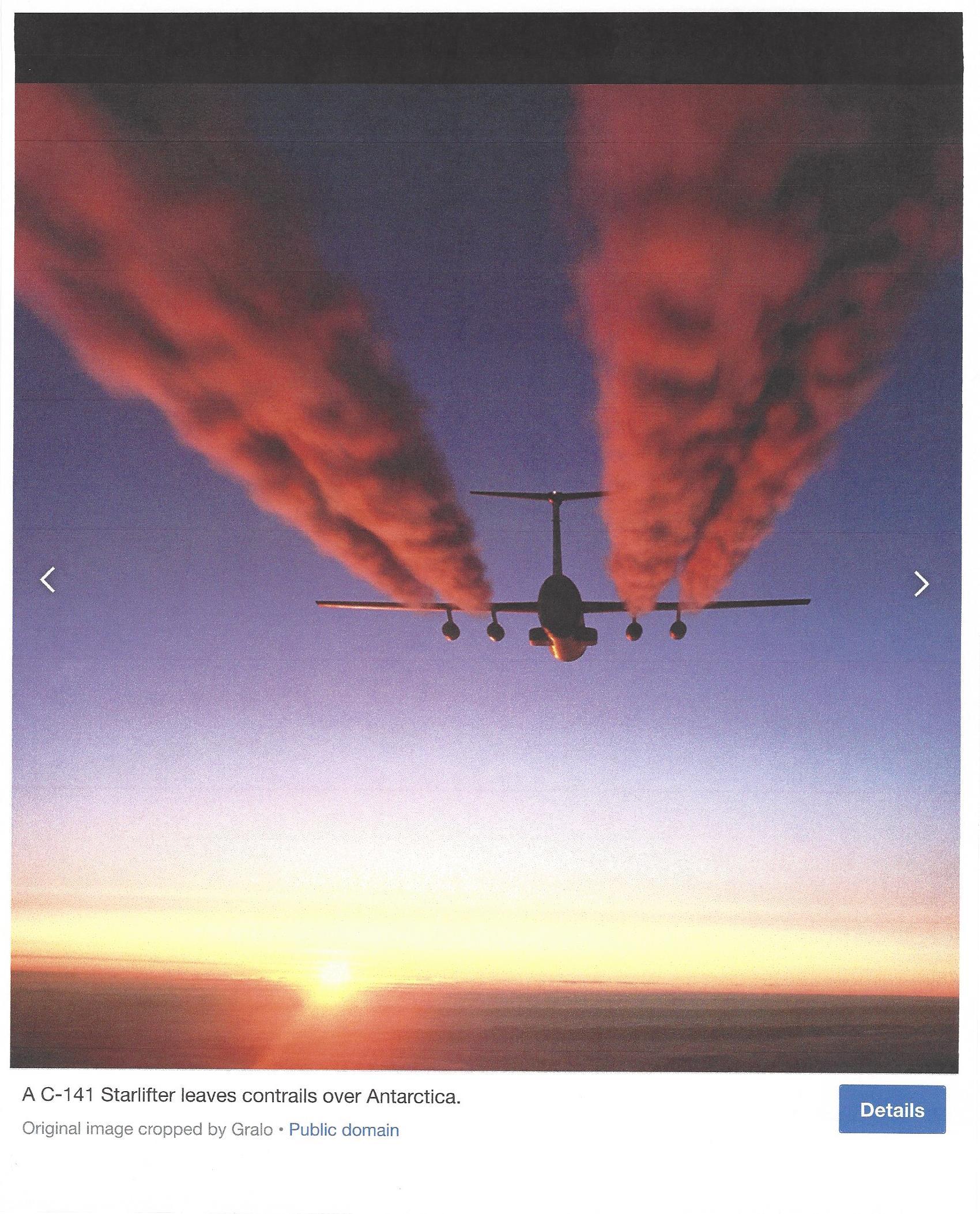 Plane Exhaust